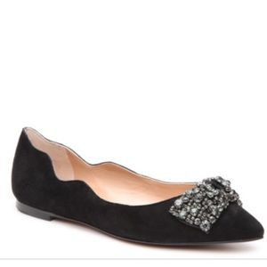 Audrey Brooke   Lucia Bow Pointed Flats